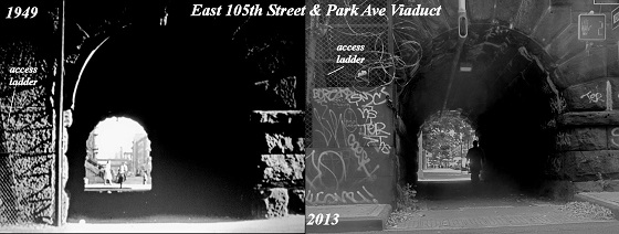 East 105th Street & Park Ave Viaduct