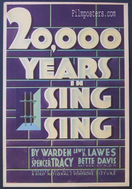 20,000 Years In Sing Sing (1932)